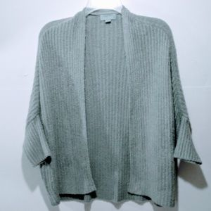 Barefoot Dreams cardigan sweater S M green